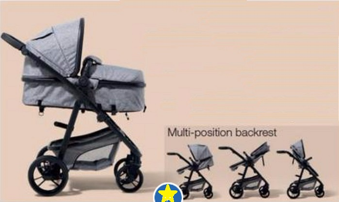 Premium Luxury Rotational Baby Pram